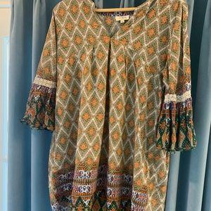 Umgee BOHO CHIC Tunic OR  Dress